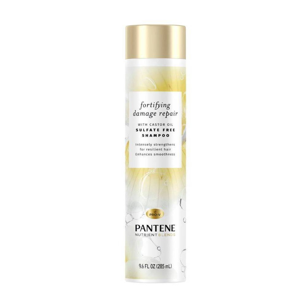 Image of Pantene Nutrient Blends Repair With Castor Oil Shampoo - 9.6 fl oz