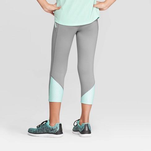 daf93022bd9b3 Girls' Laser Cut Premium Capri Leggings - C9 Champion® : Target