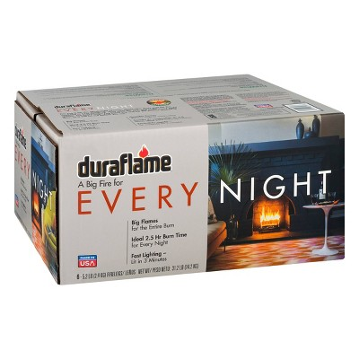 Duraflame 6pk 5.2lb Every Night Firelogs