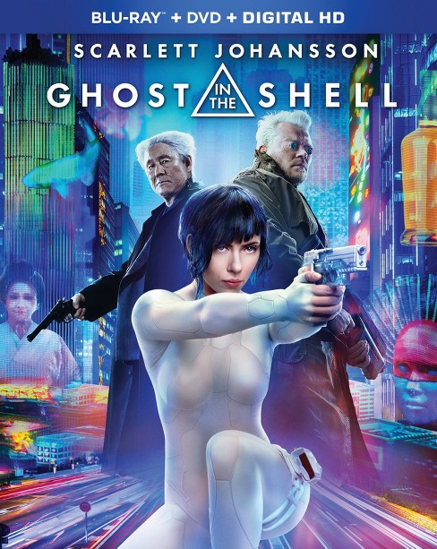 Ghost in the Shell (Blu-ray + DVD + Digital HD) - image 1 of 1