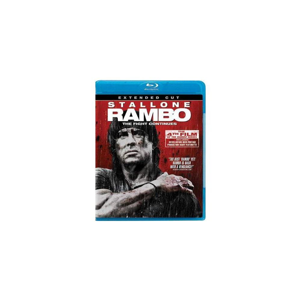 Rambo Extended Cut Blu Ray