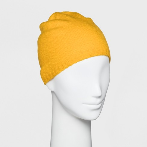 37139559a506f Women s Single Layer Beanie - Wild Fable™ Yellow   Target