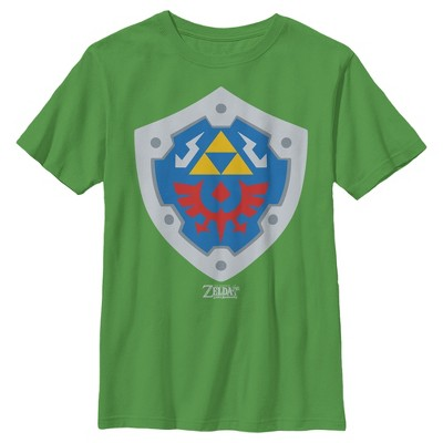 Boy's Nintendo Legend of Zelda Link's Awakening Hylian Shield T-Shirt