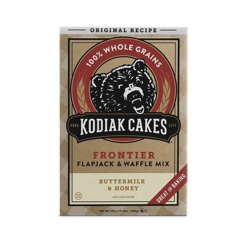 Kodiak Cakes Buttermilk & Honey Flapjack & Waffle Mix - 24oz - image 1 of 4