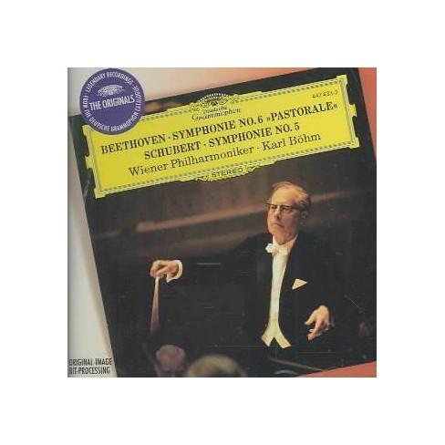 Beethoven - Beethoven: Sym 6; Schubert: Sym 5 (CD) - image 1 of 1