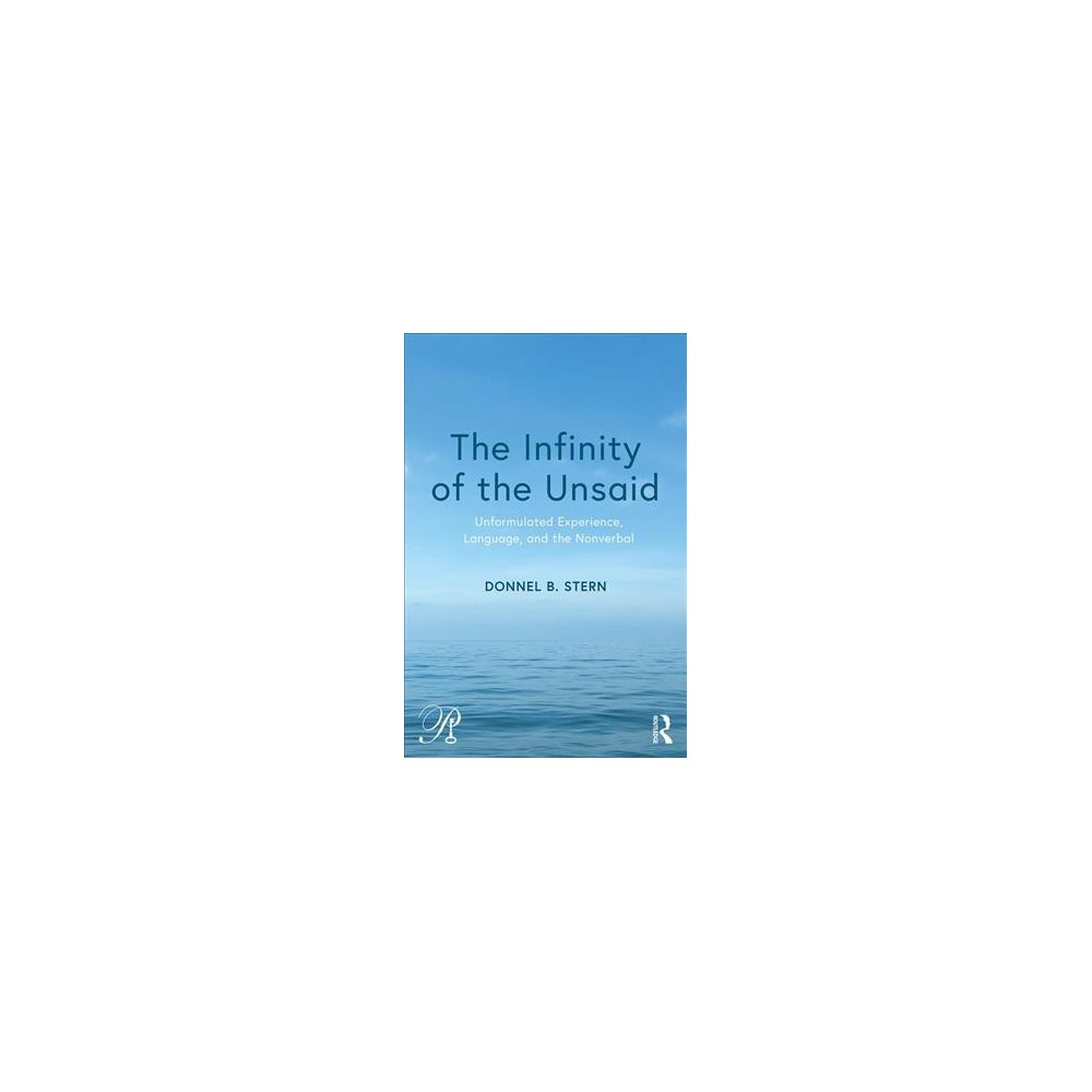 Infinity of the Unsaid : Unformulated Experience, Language, and the Nonverbal - (Paperback)
