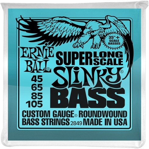 8e36067754b Ernie Ball Hybrid Slinky Bass Strings Super Long...   Target