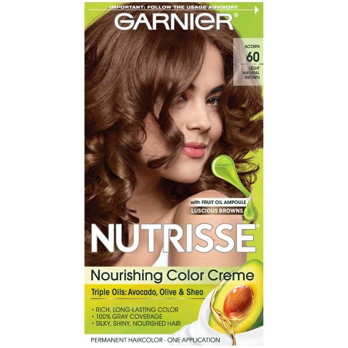 Garnier Nutrisse Nourishing Permanent Hair Color Creme - Dark Nude Brown - image 1 of 10