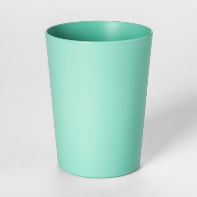 18oz Plastic Short Tumbler Green - Room Essentials™