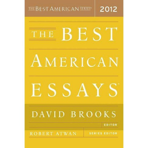 The Best American Essays - (Paperback) - image 1 of 1