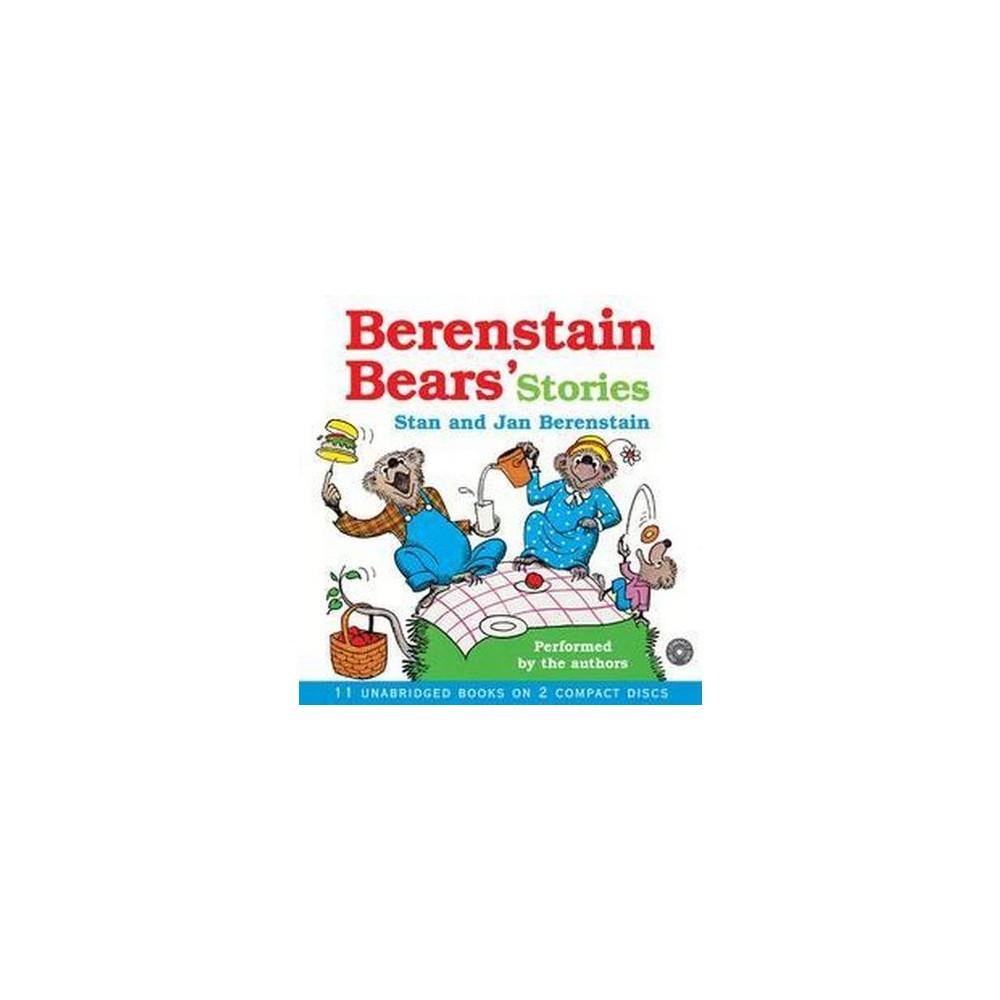 Berenstain Bears Stories (Unabridged) (CD/Spoken Word) (Stan Berenstain & Jan Berenstain)