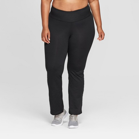 "Women's Plus Size Everyday Mid-Rise Straight Pants 31.5"" - C9 Champion® - image 1 of 2"