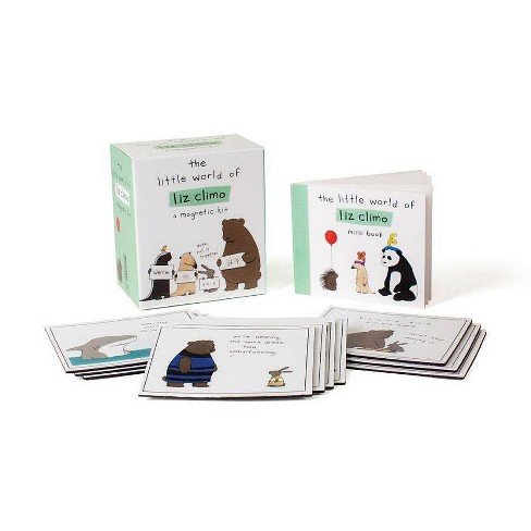 Little World of Liz Climo : A Magnetic Kit (Paperback) - image 1 of 1