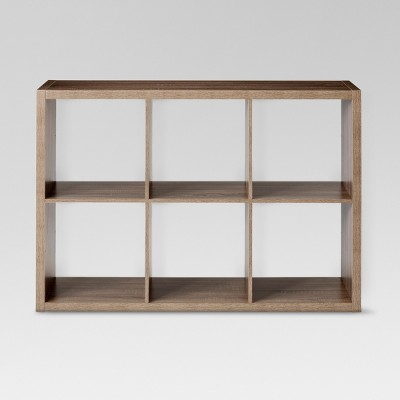 13  6-Cube Organizer Shelf Brown - Threshold™