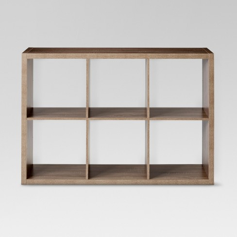 "6 Cube Organizer Shelf 13"" - Threshold™ - image 1 of 4"