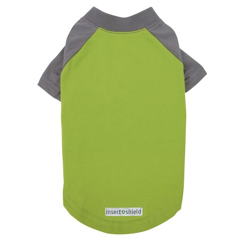 Insect Shield Premium Dog Tee - Green - image 1 of 3