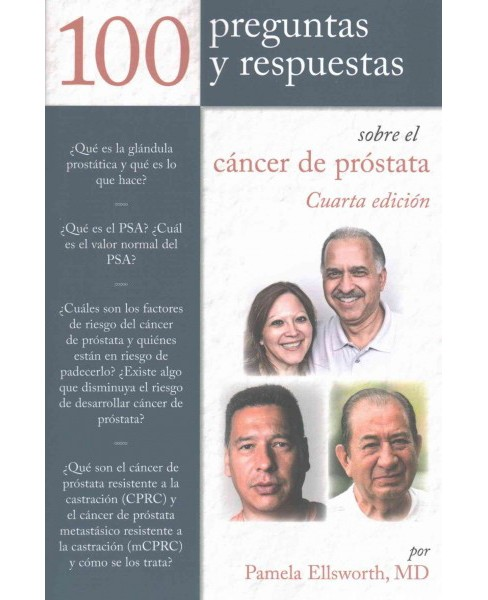 100 Prequntas y Respuestas Sobre El Cancer De Prostata /100 Questions and Answers about Prostate Cancer - image 1 of 1