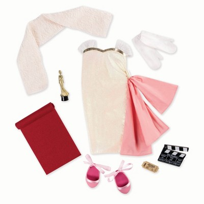 """Our Generation Retro Collection Best Actress Movie Outfit for 18"""" Dolls"""