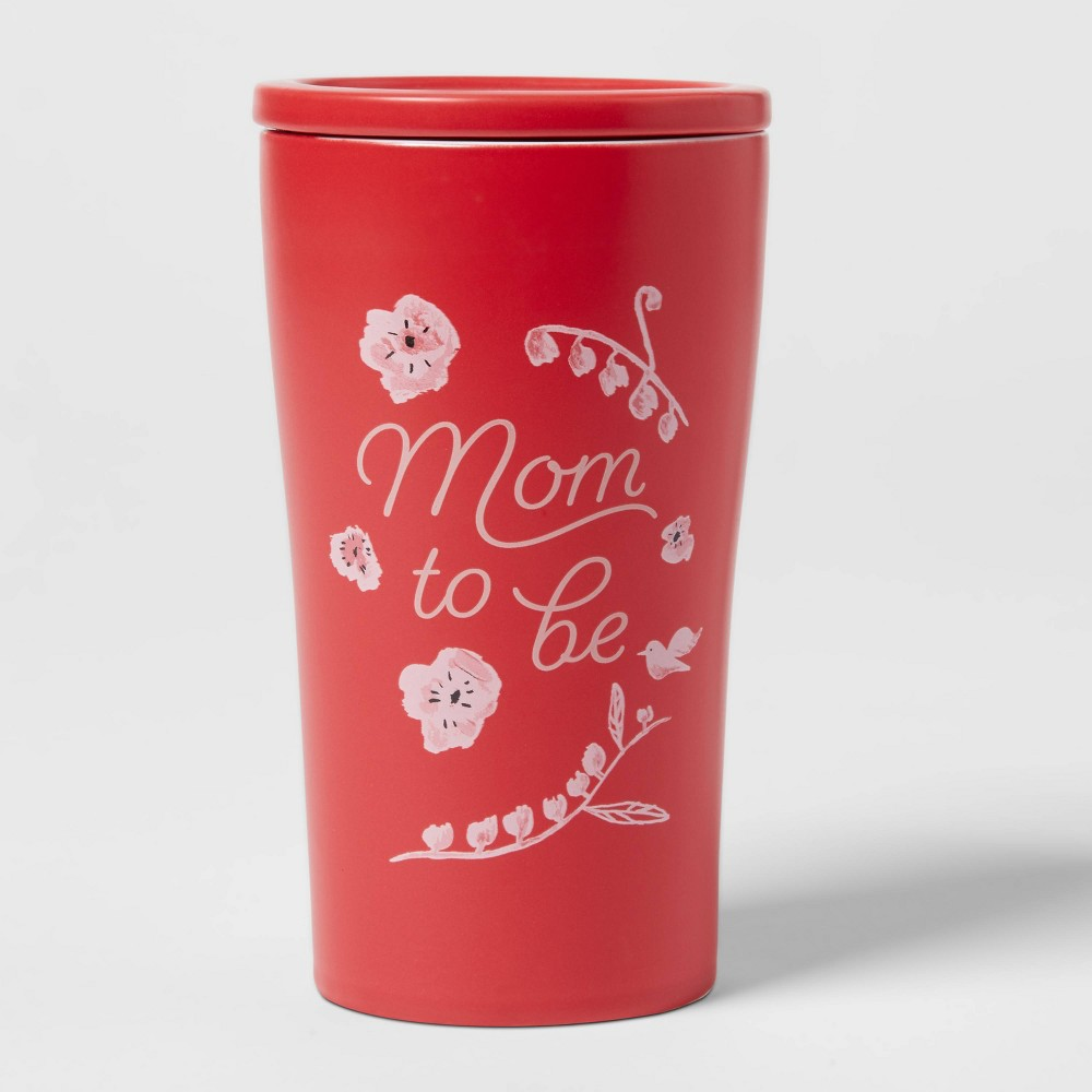 10oz Stoneware Mom To Be Tumbler With Lid Opalhouse 8482