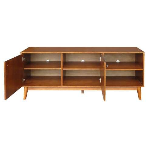 Amherst Mid Century Modern Tv Stand Brown Project 62