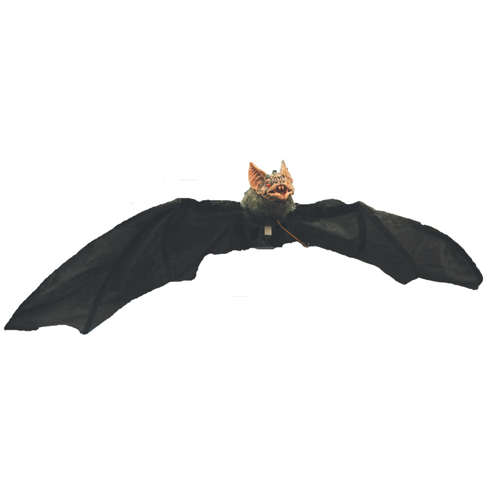 36 Halloween Electronic Bat, Multi-Colored