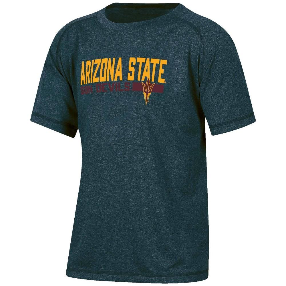 Ncaa Arizona State Sun Devils Boys 39 Short Sleeve Gray T Shirt S