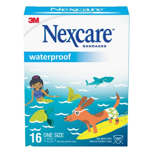 Nexcare Waterproof Bandages Oceanic Collection - 16ct - image 1 of 3