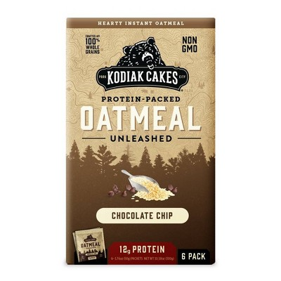 Kodiak Cakes Chocolate Chip Oatmeal - 6pk