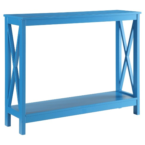 Oxford Console Table - Blue - Convenience Concepts - image 1 of 3