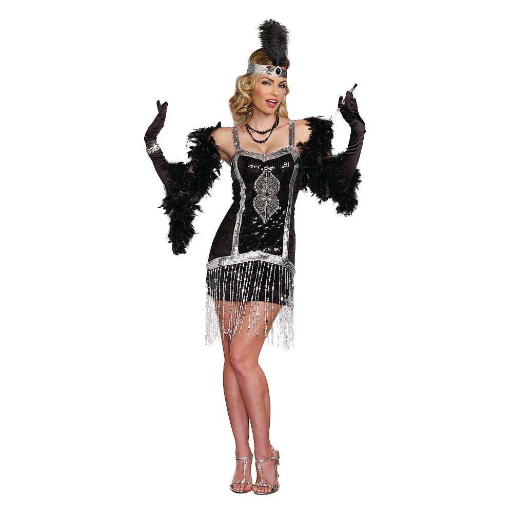 Women's Simply Fab Costume - Medium, Black