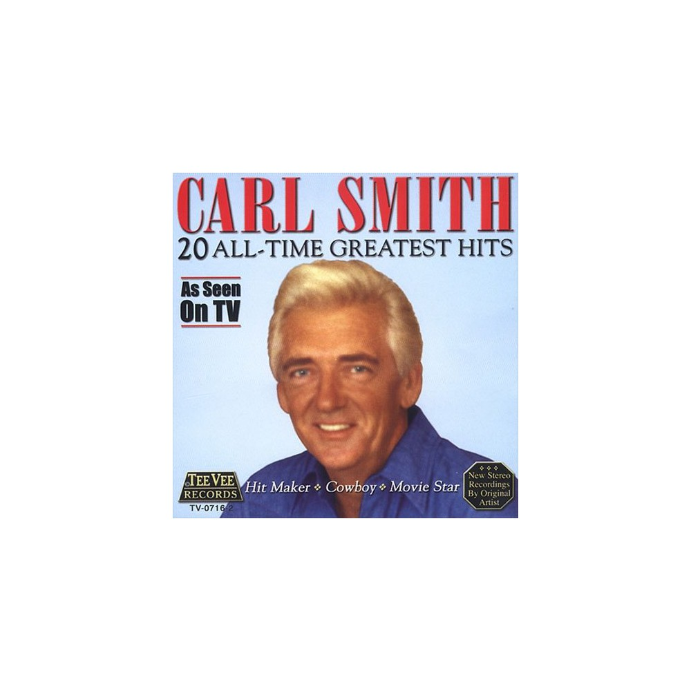 Carl Smith - 20 All-time Greatest Hits (CD)