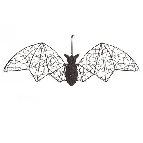 Halloween LED Bat Metal Décor - image 1 of 4