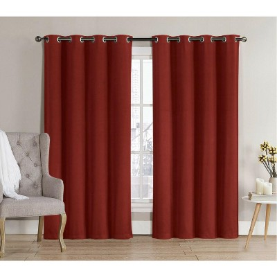GoodGram 2 Pack: Hotel Thermal Grommet 100% Blackout Curtains