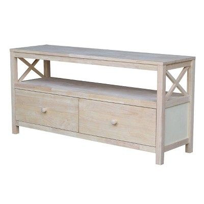 """Concepts TV Stand Unfinished 54"""" - International Concepts"""