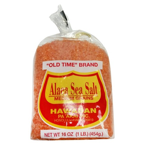 Old Time Alaea Medium Grain Sea Salt 16oz - image 1 of 1