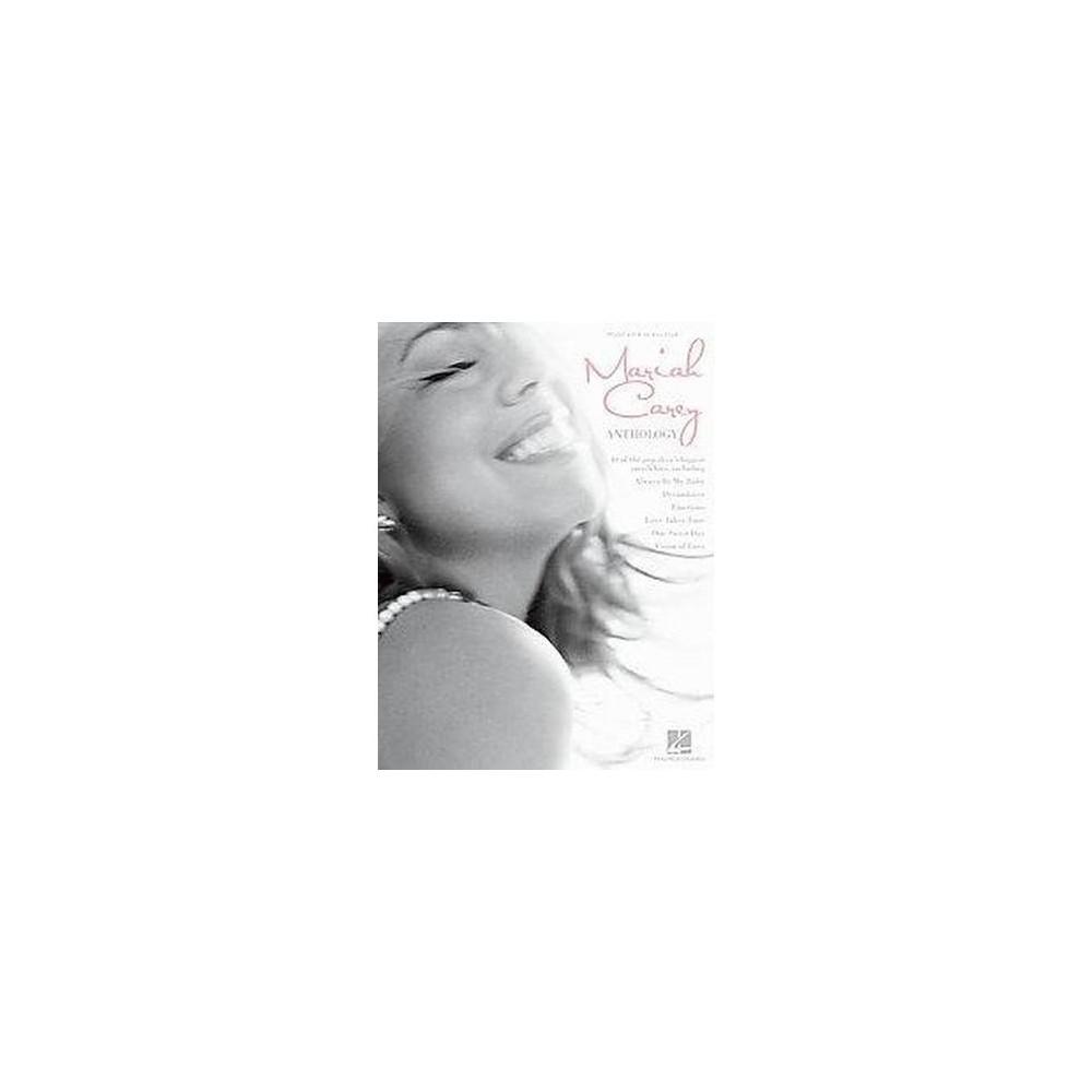 Mariah Carey Anthology : Piano, Vocal, Guitar (Paperback) (Hal Leonard Publishing Corporation)