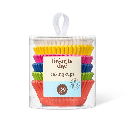 Rainbow Baking Cups - 150ct - Favorite Day™