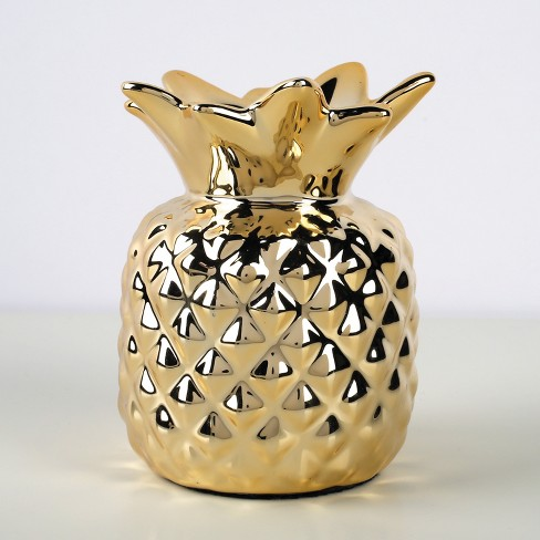 Pineapple Pencil Cup Gold - Emily Ley Paper Gifts - image 1 of 2