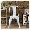Metal Cafe Chair - Saracina Home - image 3 of 4