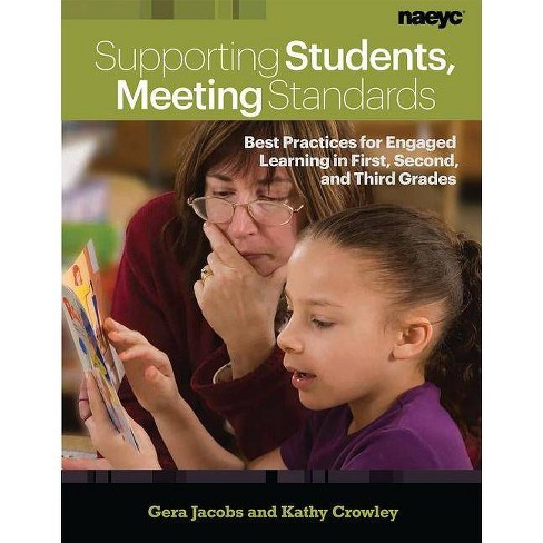 Supporting Students, Meeting Standards - by  Gera Jacobs & Kathy Crowley (Paperback) - image 1 of 1