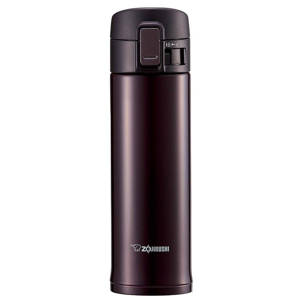 Image of Zojirushi 16oz Stainless Steel Vacuum Bottle with Nonstick Interior - Bordeaux