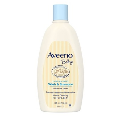 Aveeno Baby Wash and Shampoo - 18oz