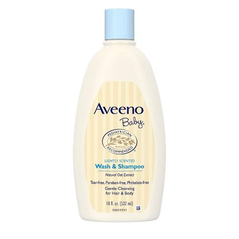 Aveeno Baby Wash and Shampoo - 18 fl oz - image 1 of 4