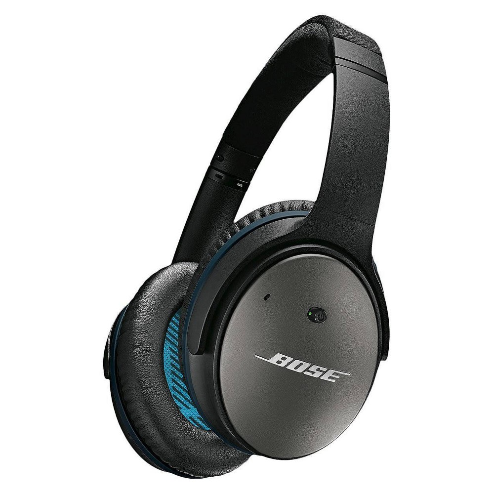 Bose QuietComfort 25 Acoustic Noise Cancelling Wired Headphones (iOS) - Black