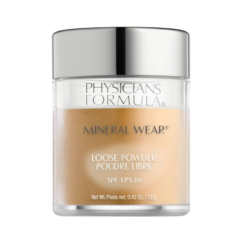 Physicians Formula Mineral Wear Loose Powder Warm Tan 0.42oz - image 1 of 2