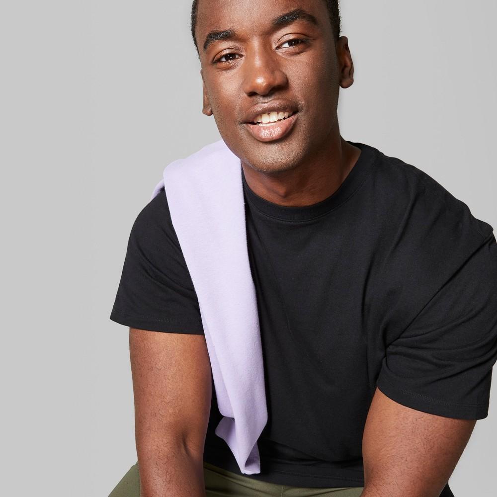 Men's Big & Tall Short Sleeve Boxy T-Shirt - Original Use Black 3XBT