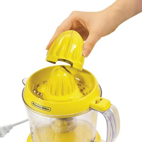 Proctor Silex Alex S Lemonade Stand Citrus Juicer Yellow 66331 Target