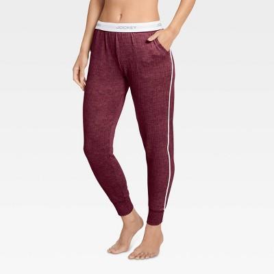 Jockey Generation™ Women's Retro Vibes Ribbed Jogger Pajama Pants