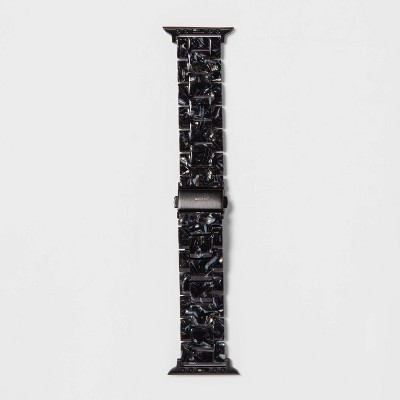 heyday™ Apple Watch Band 38/40mm - Black Tort