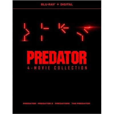 Predator: 4-Film Collection (Blu-ray)